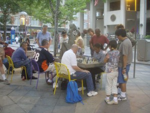 The Games Continued--Chess on the 16th Street Mall