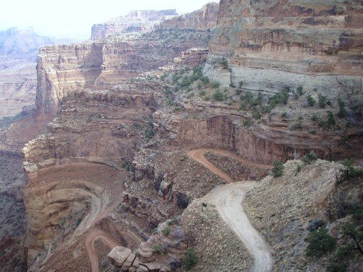 A road, Canyonlands-style