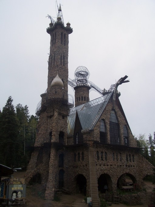 Bishop's Castle--a one-man, decades-long tribute to the working man