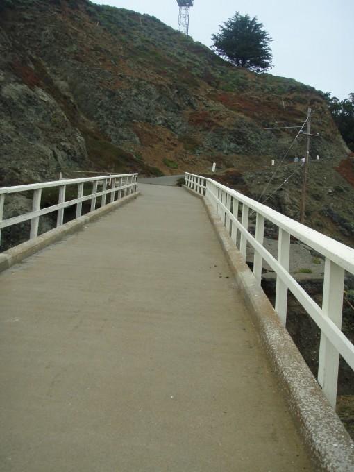 Path to the Point Bonita Lighthouse