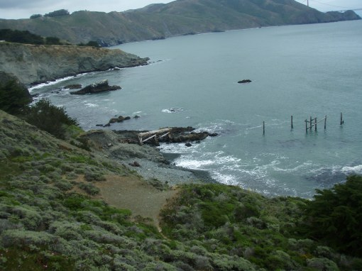 A familiar scene along California's Route 1