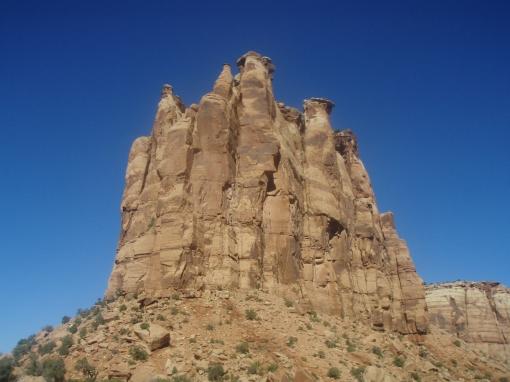 Familiar sandstone formation