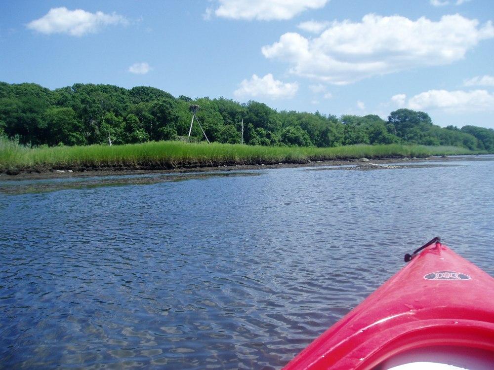 Kayaking Point Judith Pond (6/6)