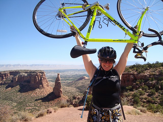 Road Biking Colorado National Monument (1/6)